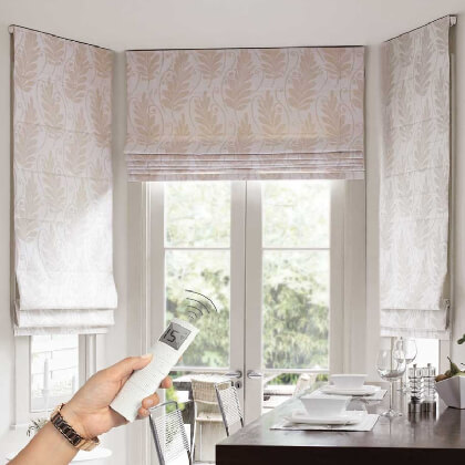 Automatic Roman Blind, Drapes India